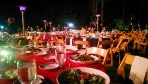 Dinner al fresco